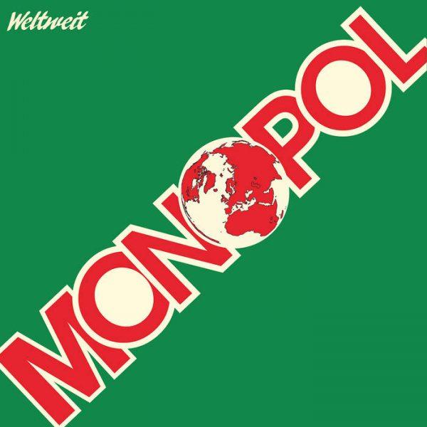 Monopol - Weltweit - LP - Kraftwerk - Synth Pop