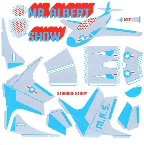 Mr Albert Show - Strange Story - LP - Dutch Jam Blues Rock Soul