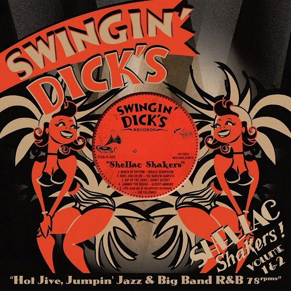swingin dicks shellac shakers Vol 210inch